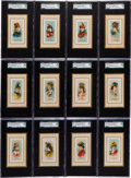 "Non-Sport Cards:Sets, 1889 N73 Duke ""Fancy Dress Ball Costumes"" Complete Set (50) - #1 onthe SGC Set Registry! ..."
