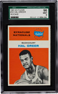 Basketball Cards:Singles (Pre-1970), 1961 Fleer Hal Greer #16 SGC 96 Mint 9 - Pop Two with None Higher!...