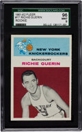Basketball Cards:Singles (Pre-1970), 1961 Fleer Richie Guerin #17 SGC 96 Mint 9 - Pop Two With NoneHigher! ...