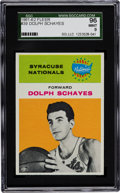Basketball Cards:Singles (Pre-1970), 1961 Fleer Dolph Schayes #39 SGC 96 Mint 9 - Pop two with NoneHigher!...