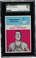 Basketball Cards:Singles (Pre-1970), 1961 Fleer Jack Twyman #42 SGC 96 Mint 9 - Highest SGC GradedKnown....