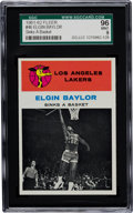 Basketball Cards:Singles (Pre-1970), 1961 Fleer Elgin Baylor IA #46 SGC 96 Mint 9 - Highest SGC GradeRecorded....