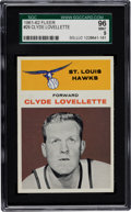 Basketball Cards:Singles (Pre-1970), 1961 Fleer Clyde Lovellette #29 SGC 96 Mint 9 - Pop One with NoneHigher! ...