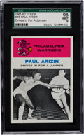 Basketball Cards:Singles (Pre-1970), 1961 Fleer Paul Arizin IA #45 SGC 96 Mint 9 - The One and Only SGC96! ...
