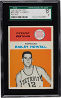 Basketball Cards:Singles (Pre-1970), 1961 Fleer Bailey Howell #20 SGC 96 Mint 9 - Pop Three with NoneHigher....