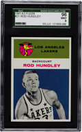 Basketball Cards:Singles (Pre-1970), 1961 Fleer Rod Hundley #21 SGC 96 Mint 9 - Pop One with NoneHigher! ...