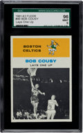 Basketball Cards:Singles (Pre-1970), 1961 Fleer Bob Cousy IA #49 SGC 96 Mint 9 - Pop One with NoneHigher! ...