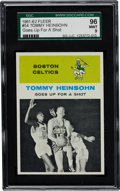Basketball Cards:Singles (Pre-1970), 1961 Fleer Tommy Heinsohn IA #54 SGC 96 Mint 9 - Pop Two with NoneHigher! ...