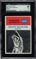 Basketball Cards:Singles (Pre-1970), 1961 Fleer Dolph Schayes IA #63 SGC 96 Mint 9 - Pop One with NoneHigher! ...