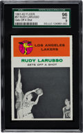 Basketball Cards:Singles (Pre-1970), 1961 Fleer Rudy Larusso IA #57 SGC 96 Mint 9 - Highest SGC GradeKnown....