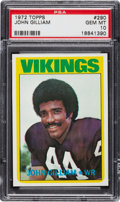 Football Cards:Singles (1970-Now), 1972 Topps John Gilliam #290 PSA Gem Mint 10 - Pop One of One! ...