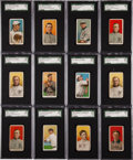 Baseball Cards:Sets, 1909-11 T-206 White Border Tobacco Baseball Collection (321) WithOver 75 Polar Bear Backs and 26 Factory 42 Overprints!...