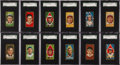 Baseball Cards:Sets, 1911 T205 Gold Border Baseball Collection (145) with Ty Cobb andScarcities. ...