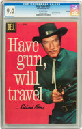 Silver Age (1956-1969):Western, Four Color #931 Have Gun, Will Travel (#1) File Copy (Dell, 1958)CGC VF/NM 9.0 Off-white pages....