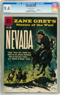 Silver Age (1956-1969):Western, Four Color #996 Zane Grey's Nevada (Dell, 1959) CGC NM 9.4 Off-white pages....