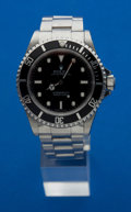 Timepieces:Wristwatch, Rolex Ref. 14060M Gent's Steel Submariner, circa 2003. ...