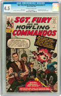 Silver Age (1956-1969):War, Sgt. Fury and His Howling Commandos #1 (Marvel, 1963) CGC VG+ 4.5 Off-white to white pages....