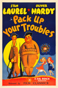 """Movie Posters:Comedy, Pack Up Your Troubles (Film Classics, R-1940s). One Sheet (27"""" X41"""").. ..."""