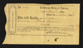 Confederate Notes:Group Lots, Atlanta, GA- $700 Interim Deposit Receipt Mar. 17, 1864 TremmelGA-19 Very Fine.. ...
