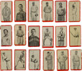 Baseball Cards:Lots, 1910 T210 Old Mill Red Borders Series Six - Blue Grass LeagueCollection (18). ...