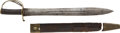 Edged Weapons:Swords, Civil War Courtney & Tennent Charleston, S. C. Imported Confederate Naval Cutlass....