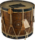 Military & Patriotic:Civil War, Very Nice Civil War Snare Drum With Interesting History...