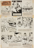 Original Comic Art:Comic Strip Art, Hal Foster Prince Valiant Sunday Comic Strip #1636 Original Art dated 6-16-68 (King Features Syndicate, 1968)....