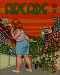 Original Comic Art:Covers, Robert Crumb Arcade #33 Cover Original Art (1963)....