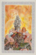 Original Comic Art:Covers, Dave Sim and Gerhard Cerebus the Adventurer IllustrationOriginal Art (2006)....