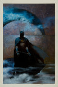 Original Comic Art:Covers, Scott Hampton Batman Annual #15 Cover Original Art (DC,1991)....