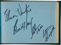Hockey Collectibles:Others, 1963-65 Hockey Legends Multi Signed Autograph Book - With 100+ Signatures!...