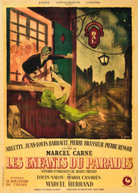 "Children of Paradise (Les Enfants du Paradis) (Pathé, 1945) Part 1. French Grande (47"" X 63"")"