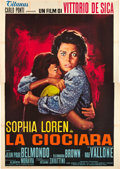 "Movie Posters:Drama, Two Women (Titanus, 1960). Italian 4 - Foglio (55"" X 78"").. ..."