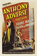 "Movie Posters:Adventure, Anthony Adverse (Warner Brothers, 1936). One Sheet (27"" X 41"")....."