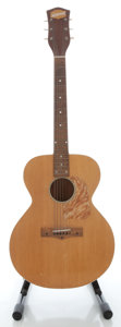 Musical Instruments:Acoustic Guitars, 1952 National Natural Acoustic Guitar, Serial #X9040....