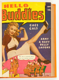 Hello Buddies Bound Volume (Fun Parade, 1943-44)