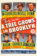 """Movie Posters:Drama, A Tree Grows in Brooklyn (20th Century Fox, 1945). One Sheet (27"""" X41"""").. ..."""