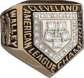 Baseball Collectibles:Others, 1997 Cleveland Indians American League Championship Ring....