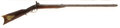 Long Guns:Muzzle loading, C. 1850 Percussion Double Barrel Rifle Probably New York State...