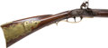 Long Guns:Muzzle loading, Full Stock Flintlock Incise Carved Pennsylvania Rifle by ChristianBeck...