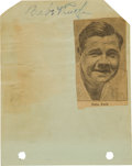 Autographs:Others, 1934 New York Yankees Team Signed Autograph Album with Ruth,Gehrig....