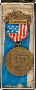 Military & Patriotic:Civil War, Very Rare Andersonville Prison Survivor's Medal in the Original Box....