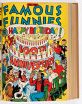 Famous Funnies Bound Volumes (Eastern Color, 1940-43).... (Total: 2 )