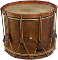 Military & Patriotic:Civil War, Historic 19th Century American Snare Drum. ...