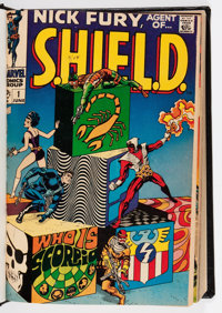 Nick Fury, Agent of S.H.I.E.L.D. #1-15 Partial Issues Bound Volume (Marvel, 1968-69)