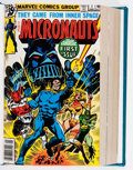 Modern Age (1980-Present):Science Fiction, Micronauts #1-40 Bound Volumes (Marvel, 1979-82).... (Total: 2 )