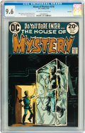 Bronze Age (1970-1979):Horror, House of Mystery #218 Savannah pedigree (DC, 1973) CGC NM+ 9.6Off-white to white pages....