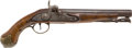 Handguns:Muzzle loading, Late 18th Century British Military Pistol Converted toPercussion....