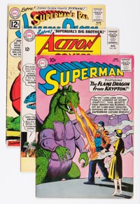 Superman Related Titles Group (DC, 1961-70) Condition: Average VG+.... (Total: 13 Comic Books)
