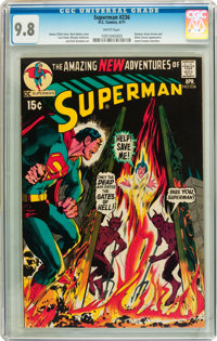 Superman #236 (DC, 1971) CGC NM/MT 9.8 White pages